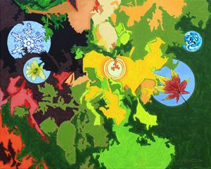 Seasons On A Small Planet - Paintings by John Lautermilch