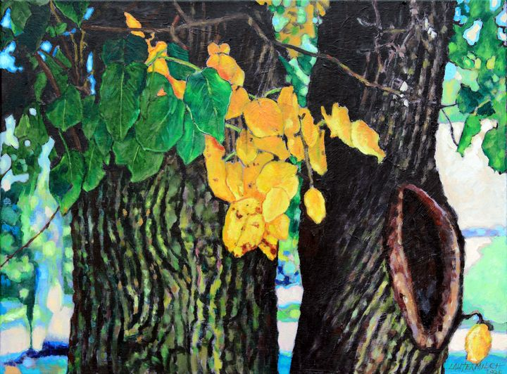 Colors and Shapes of Autumn - Paintings by John Lautermilch