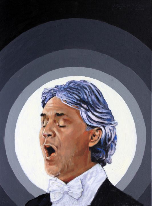 Andrea Bocelli - Paintings by John Lautermilch