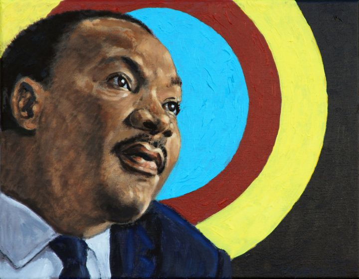 Martin Luther King JR. - Paintings by John Lautermilch