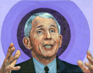 Dr. Anthony Fauci - Paintings by John Lautermilch