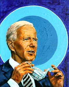 Joe Biden - Paintings by John Lautermilch