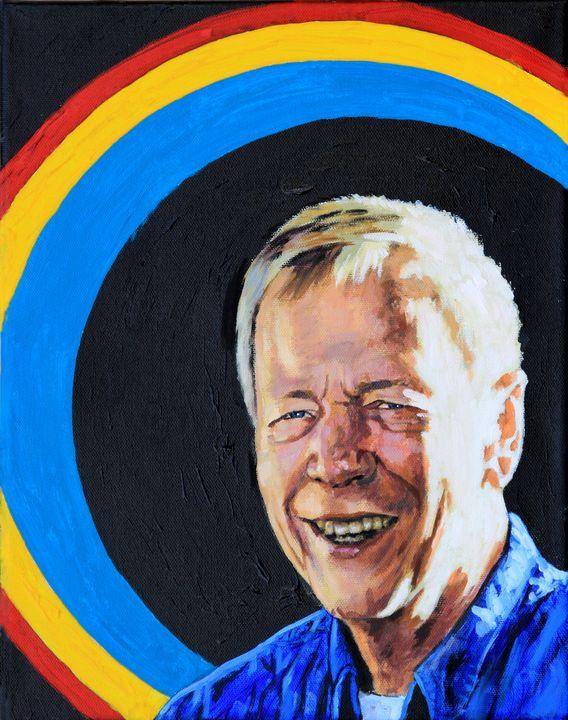 Self Portrait - Paintings by John Lautermilch