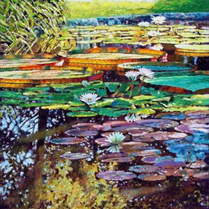 Sunlight into Shadows - Paintings by John Lautermilch