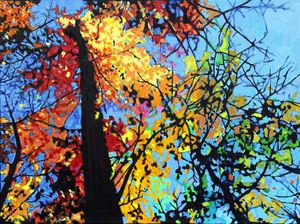 Hickory Woods in Bridgeton - Paintings by John Lautermilch