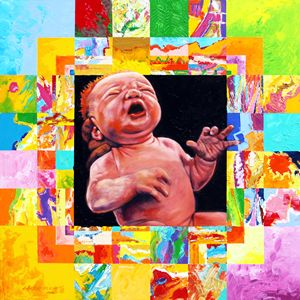 First Breath - Paintings by John Lautermilch