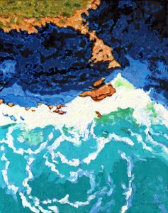 Ocean Patterns - Paintings by John Lautermilch