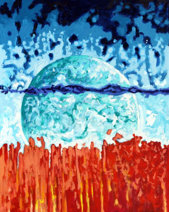 Heat Waves - Paintings by John Lautermilch