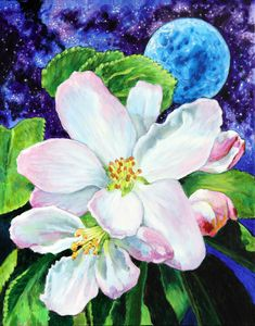 Spring Orbit - Paintings by John Lautermilch