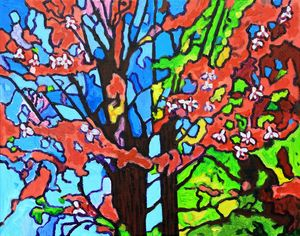 Springtime - Paintings by John Lautermilch