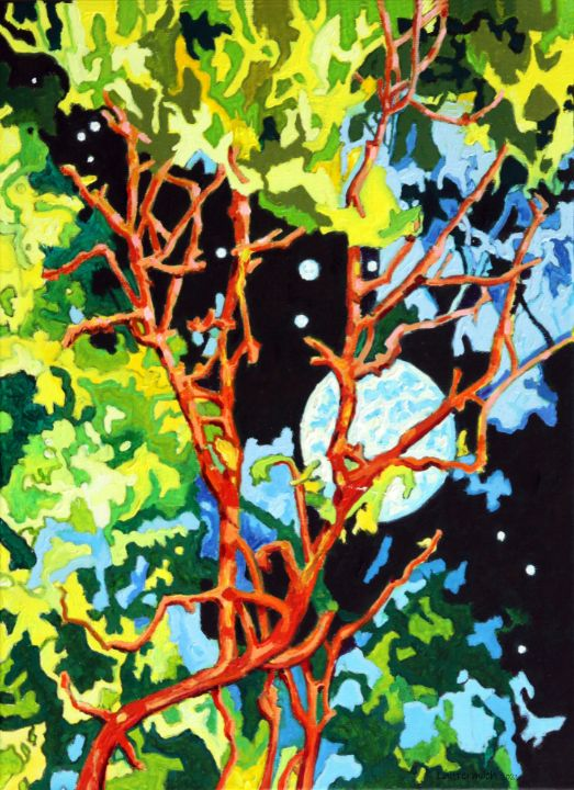 Reaching for the Stars - Paintings by John Lautermilch