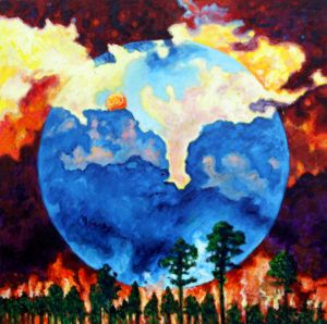 Global Warming - Paintings by John Lautermilch