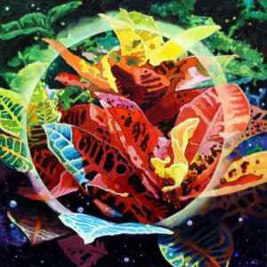 Seed's of the Universe - Paintings by John Lautermilch