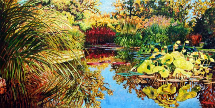 Splashes of Yellow - Paintings by John Lautermilch