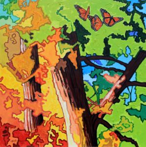 Autumn Migration - Paintings by John Lautermilch
