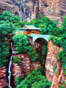 Somewhere In China - Paintings by John Lautermilch