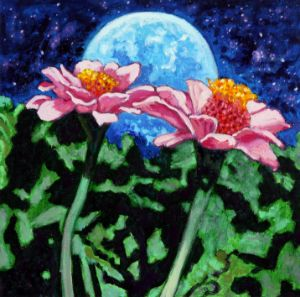 Beauty In The Night - Paintings by John Lautermilch