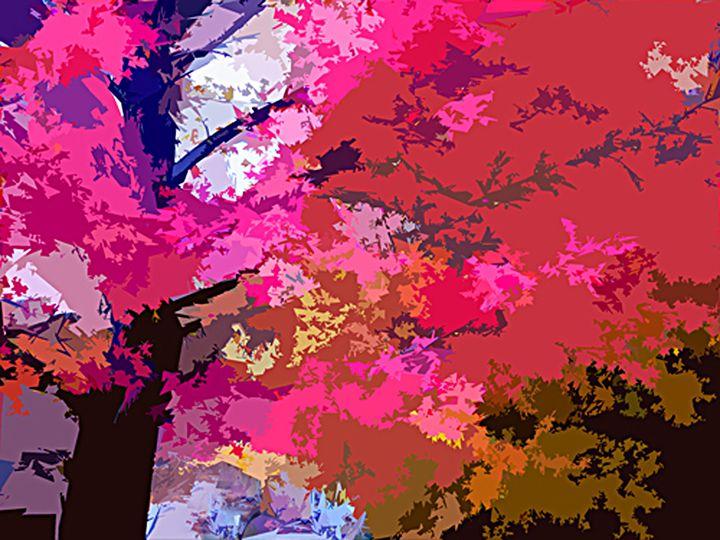 Fall Splendor - Paintings by John Lautermilch