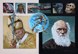 Faith and Evolution - Paintings by John Lautermilch
