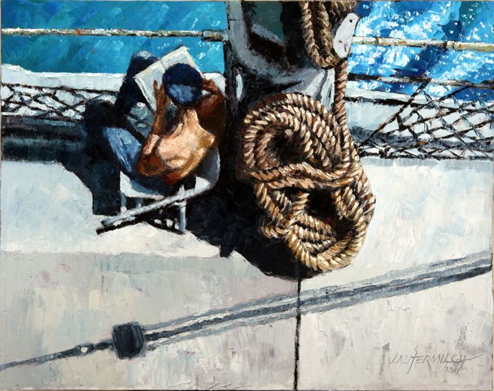 Off Duty - Paintings by John Lautermilch