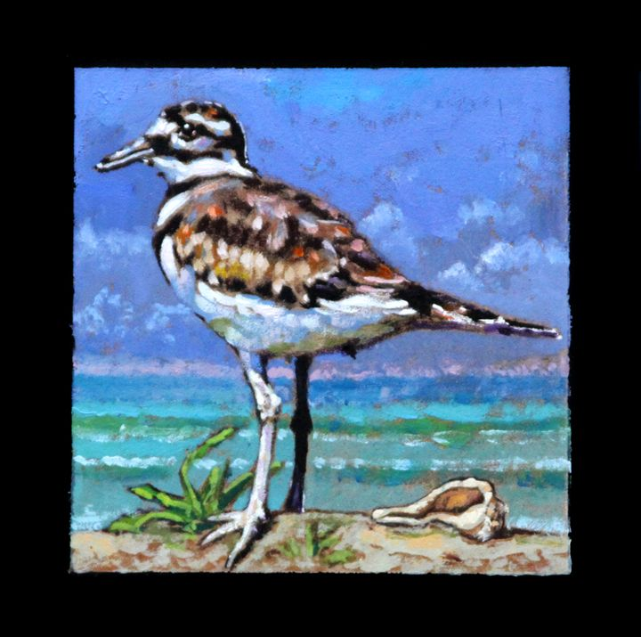 Bird #1 - Paintings by John Lautermilch