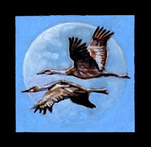 Birds 2 - Paintings by John Lautermilch