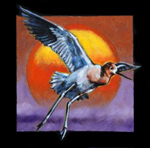 Bird #3 - Paintings by John Lautermilch