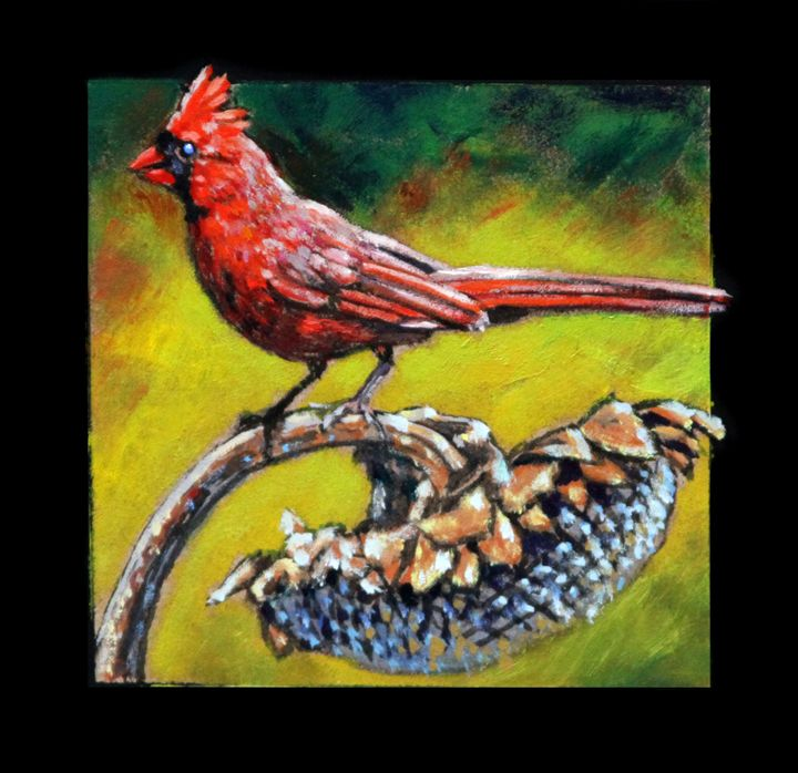 Bird #4 - Paintings by John Lautermilch