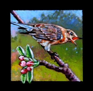 Bird #5 - Paintings by John Lautermilch