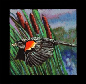 Bird #6 - Paintings by John Lautermilch