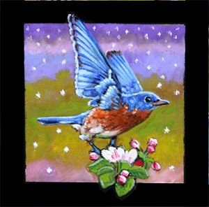 Bird #7 - Paintings by John Lautermilch