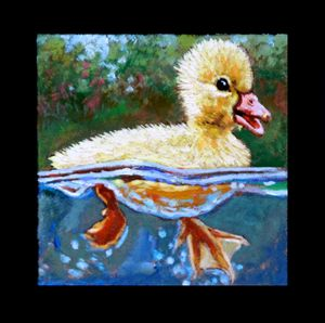 Bird #8 - Paintings by John Lautermilch
