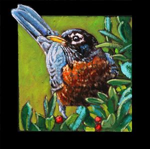 Bird #9 - Paintings by John Lautermilch