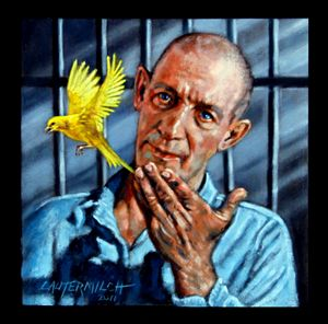 Birdman of Alcatraz - Paintings by John Lautermilch