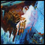 Japan's Nuclear Power Plant - Paintings by John Lautermilch