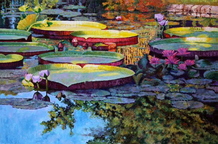 Painted Moments - Paintings by John Lautermilch