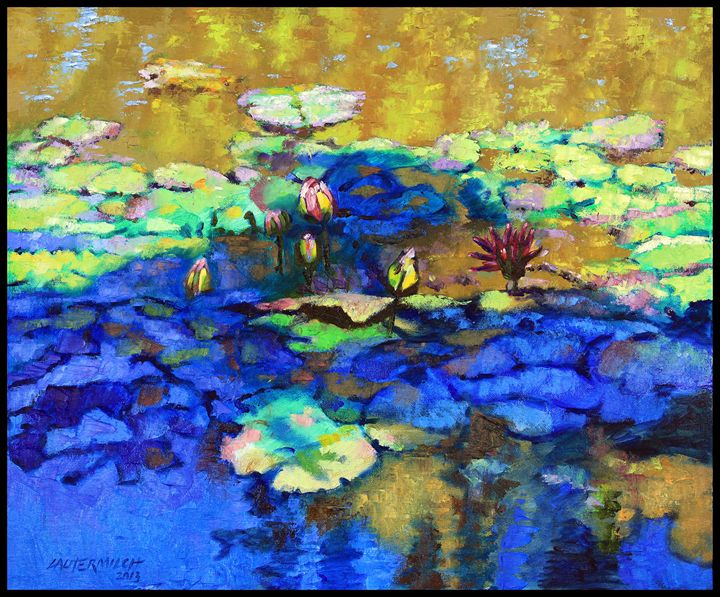 Shadows and Sunspots - Paintings by John Lautermilch