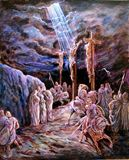 The Crucifixion - Paintings by John Lautermilch