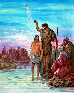 The Baptism of Jesus - Paintings by John Lautermilch