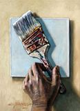 Laying Down the Paint Brush - Paintings by John Lautermilch
