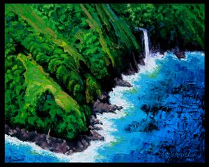 Dreaming of Hawaii - Paintings by John Lautermilch