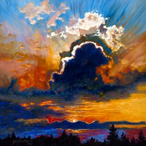 Some Glad Morning Paintings By John Lautermilch