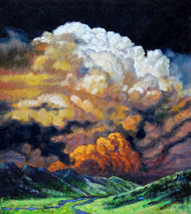 Entering The Valley - Paintings by John Lautermilch