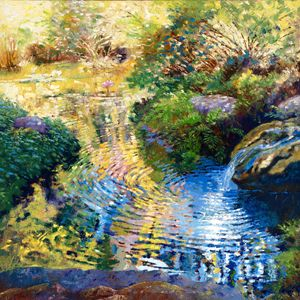 Ripples on a Quiet Pond - Paintings by John Lautermilch