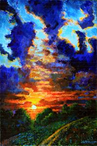 Darkness Closing In - Paintings by John Lautermilch
