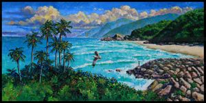 Dreaming of Vietnam - Paintings by John Lautermilch