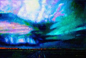 Storm Chasing - Paintings by John Lautermilch