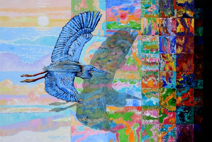 Flight Into Unconsiousness - Paintings by John Lautermilch
