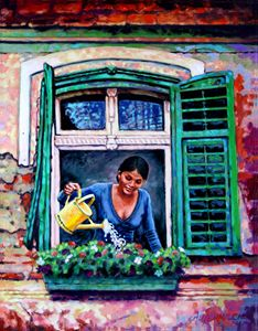 Making It A Home - Paintings by John Lautermilch