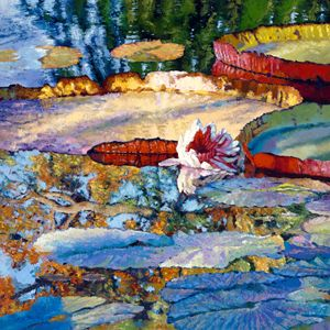 Emotions of Color, Light and Texture - Paintings by John Lautermilch